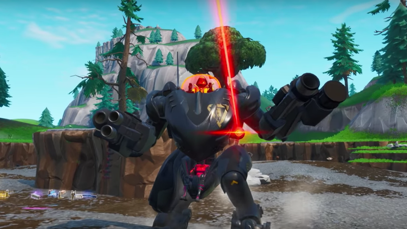 Illustration for article titled Fortnite Nerfed The Mech