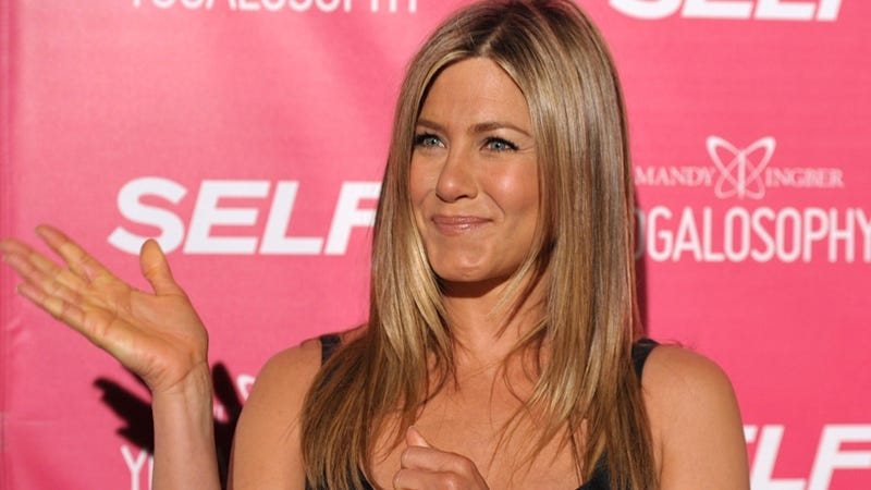 Illustration for article titled Your Old Friend Jennifer Aniston Is Only Mildly Excited to See You