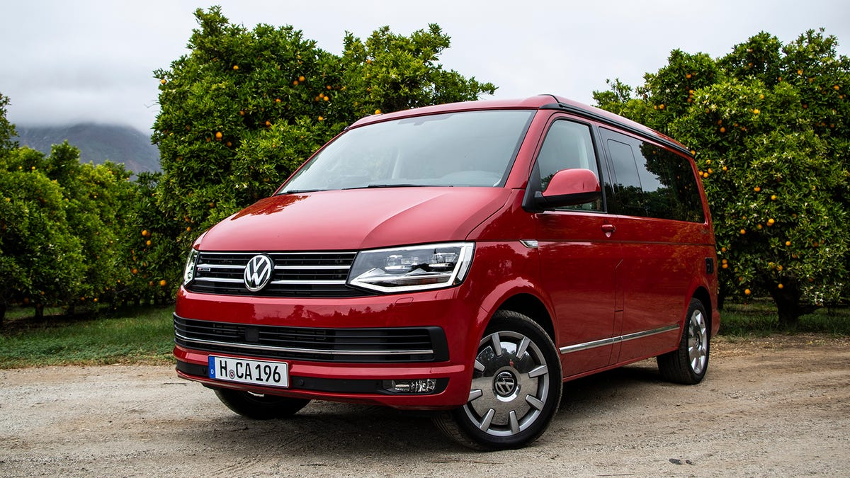 The 2018 VW T6 California Van Is The Best Car That's Also A