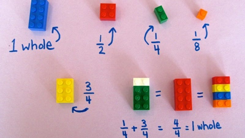 Illustration for article titled Use LEGO Bricks to Teach Basic Math Concepts
