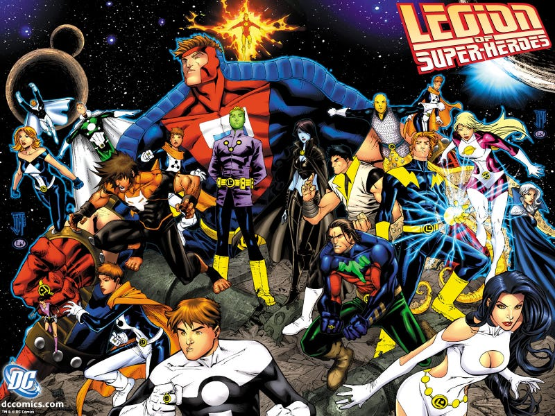 Illustration for article titled Is There Any Way To Do Justice To The Legion Of Superheroes In A Movie?