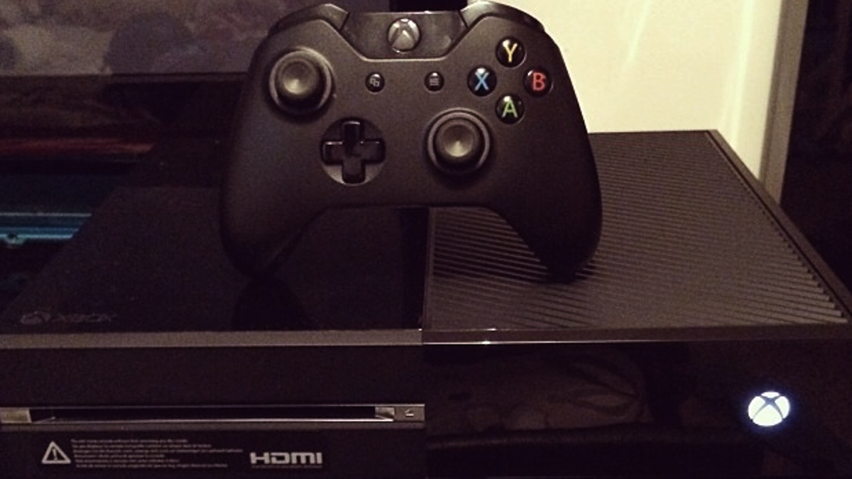 You Can Remove The Sticker On The Front Of Your Xbox One