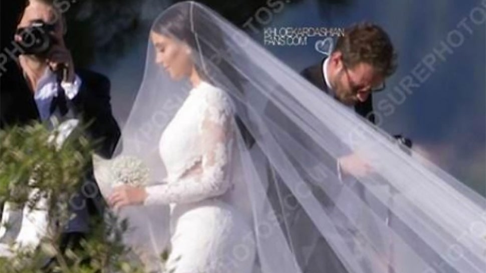 Here's Kim Kardashian's Wedding Dress