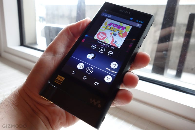 Illustration for article titled Sony Walkman Reborn (Again) As a $1200 Hi-Res Audio Handset
