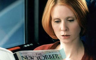 Illustration for article titled The Sex and The City Women Would Neeeeever Vote Romney, Says Cynthia Nixon