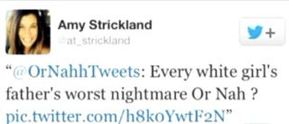 Tweet from Assistant Principal Amy Strickland's former Twitter accountTwitter