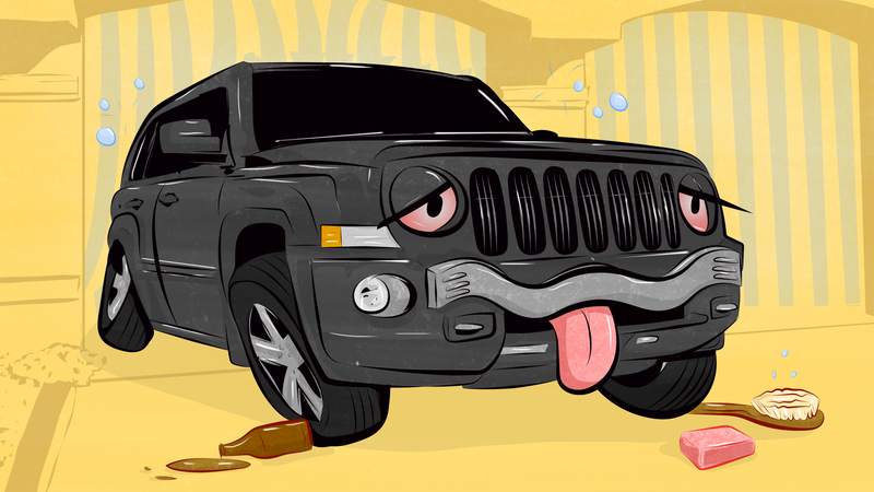 Illustration for article titled Is It Legal To Drink While Going Through A Car Wash?