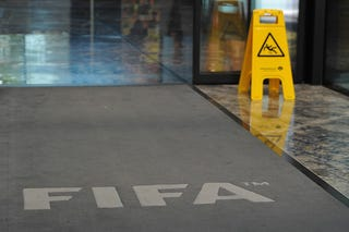 Illustration for article titled FIFA Is Its Own Metaphor: A Day Inside The Underground Bunker
