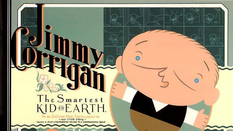 Illustration for article titled Jimmy Corrigan: The Smartest Kid On Earth