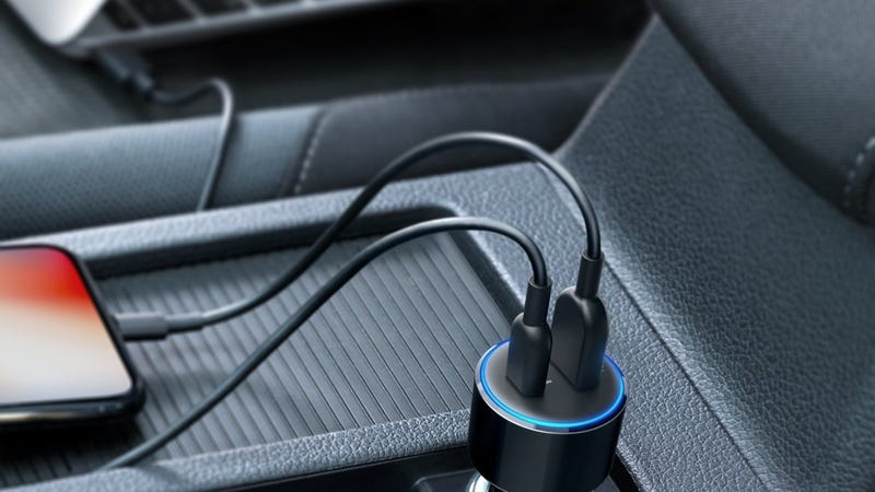 Anker USB-C PD 42W Car Charger | $17 | Amazon