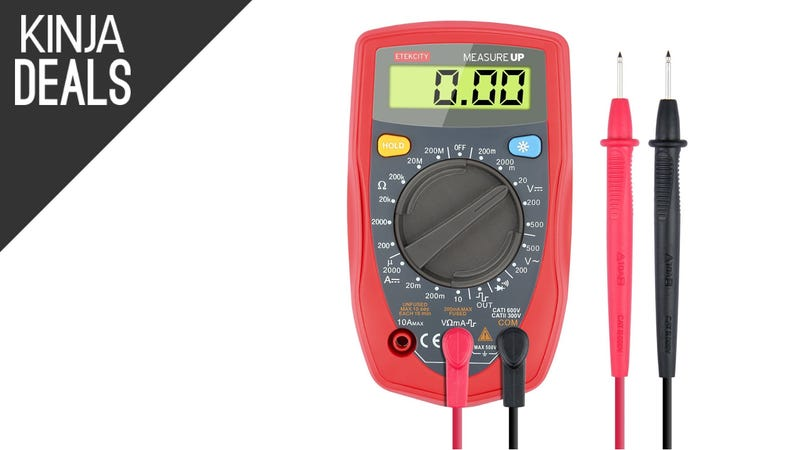 Illustration for article titled Add a Multimeter To Your Toolbox For $11