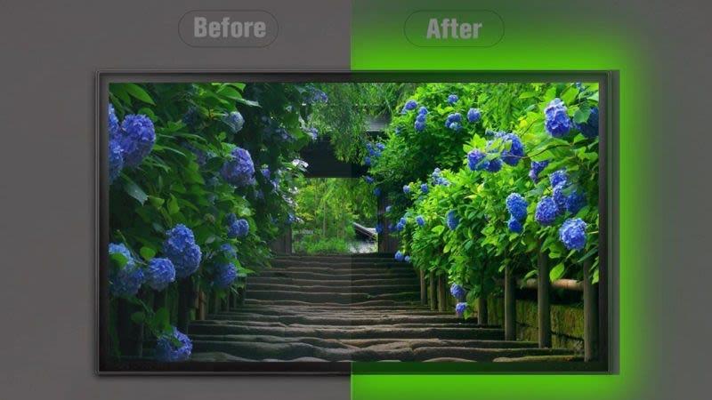 Tira de luces EveShine RGB, $9 con el código AO62ENGB