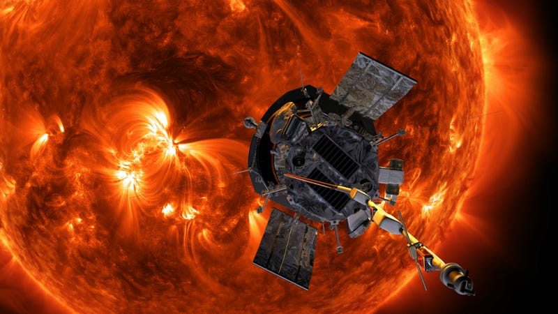Artist's depiction of the Parker Solar Probe.