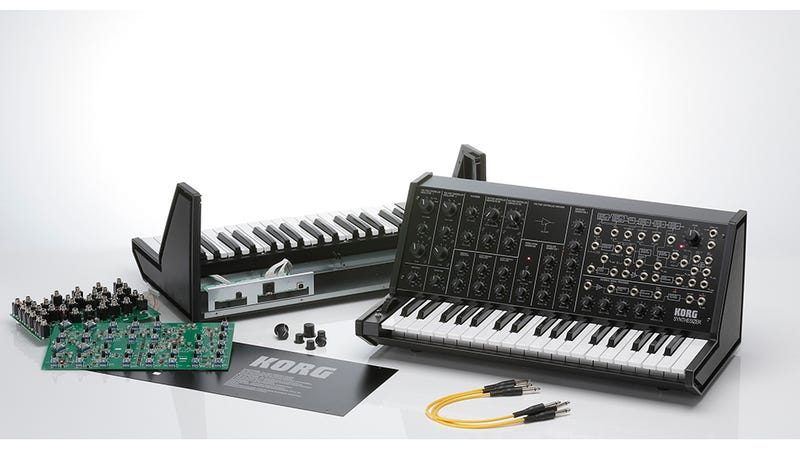 Illustration for article titled Build a Classic Korg MS-20 Synth With This Kit--Plus a New Keytar!
