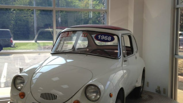 "1968 Subaru 360 for sale 14 000 miles ""Showroom"" condition"