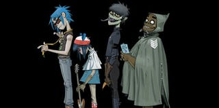 Illustration for article titled Why Gorillaz Should Be Science Fiction's Favorite Band