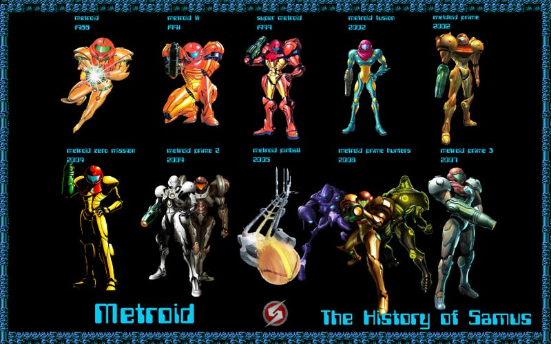 Illustration for article titled Happy 30th Anniversary Metroid