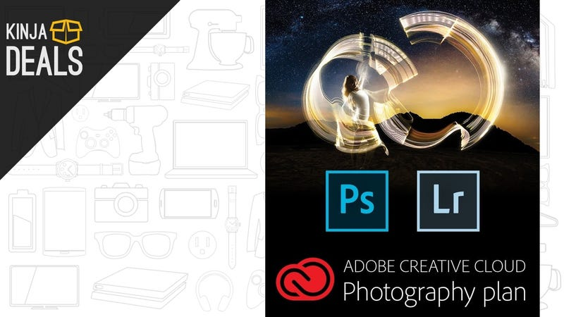 Illustration for article titled Save 20% Per Month on Adobe's Creative Cloud Photography Plan