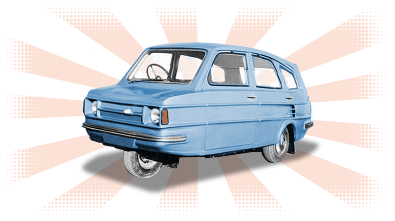 Illustration for article titled A Car You Never Heard Of: The SAIL Badal