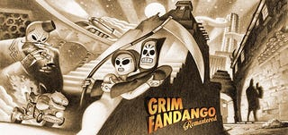 Illustration for article titled Grim Fandango, Reaping a Classic