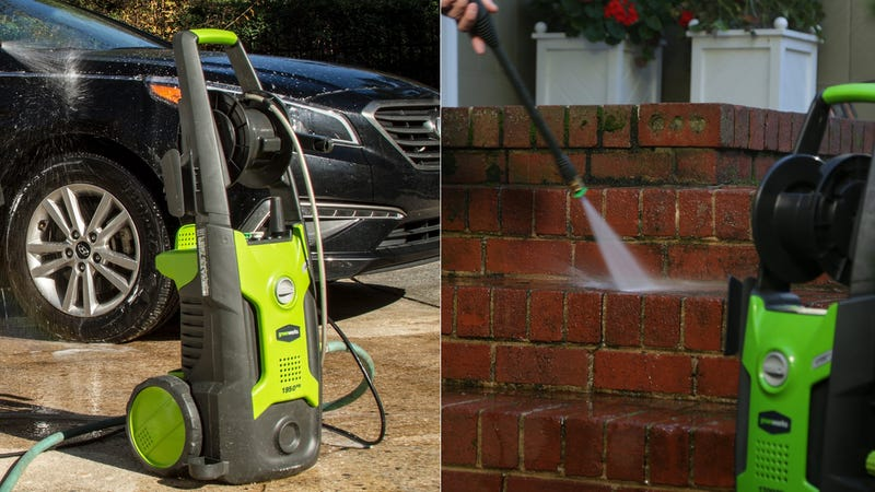 GreenWorks Pressure Washer | $80 | Amazon