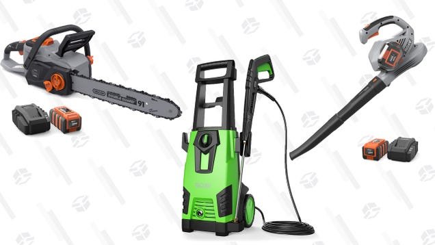 Anker, Uh, Makes a Chainsaw Now. Get It On Sale, Plus Pressure Washer and Leaf Blower Deals