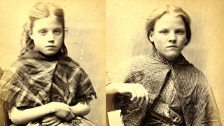 Illustration for article titled Child mugshots of the 1800s were like a depressing episode of The Little Rascals