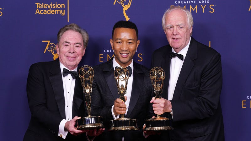 Illustration for article titled John Legend secures legendary status, becomes first black man to win an EGOT
