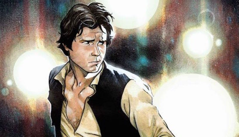 Illustration for article titled It Turns Out the Biggest Fan of Marvel's Han Solo Comic Is George Lucas Himself