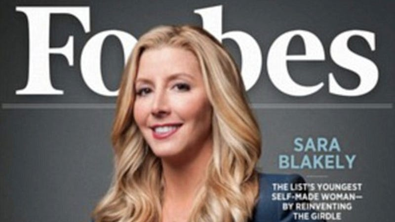 Illustration for article titled Inventor of Spanx is World's Youngest Female Self-Made Billionaire