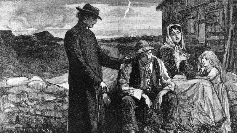 Illustration for article titled Finally Some Good News: The Irish Potato Famine Has Been Over For More Than 150 Years