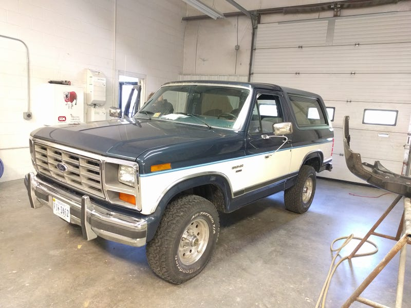 Immaculate '84 Bronco.  I didn't know the 300-6 was an option in these!