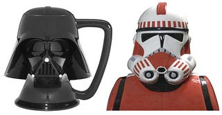 Illustration for article titled Darth Vader vs. Shock Troopers: Use the Force for Coffee and Cookies