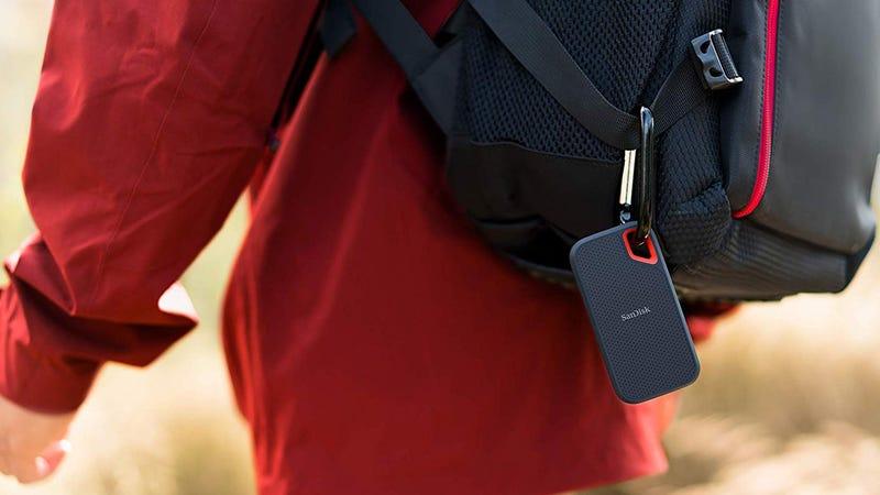 SanDisk 500GB Extreme Portable External SSD | $100 | Amazon