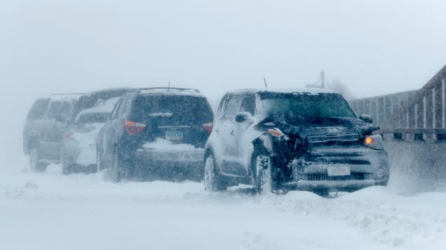 Historic Bomb Cyclone Hits Hard, With Extreme Snow, Rain, and Wind Reported Across Central U.S.