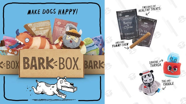 Make Your Dog s Day With 30% off a BarkBox Monthly Subscription Box