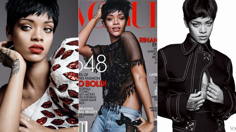 Illustration for article titled Rihanna's Vogue Profile Is Barely About Rihanna