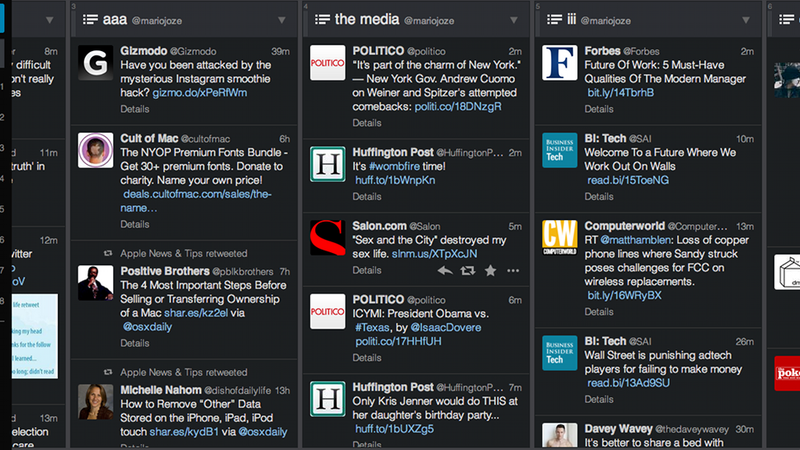 Illustration for article titled TweetDeck Just Got Worse and Twitter Blames Google