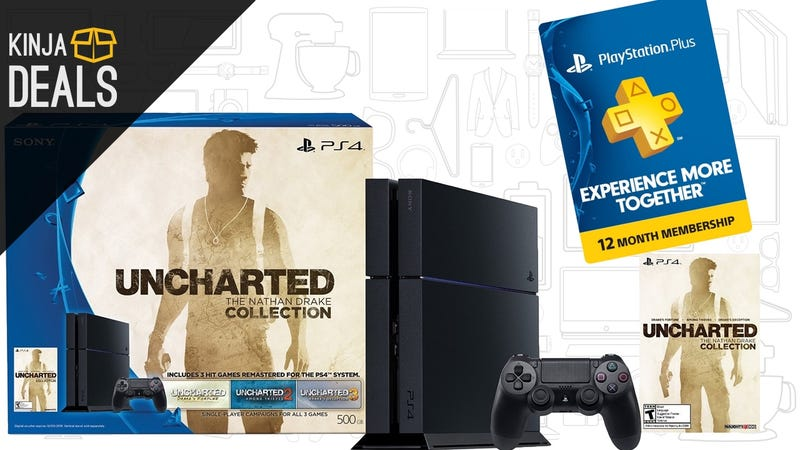 Illustration for article titled Buy a PS4, Get a Year of PlayStation Plus for Free