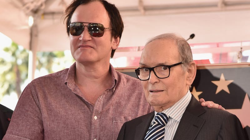 Illustration for article titled Ennio Morricone has now denied ever criticizing Quentin Tarantino and the Oscars