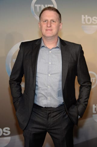 Actor Michael Rapaport attends the TBS/TNT Upfront 2014 at The Theater at Madison Square Garden on May 14, 2014, in New York City.Dimitrios Kambouris/Getty Images for Turner
