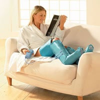 Illustration for article titled Inflatable Leg Massager Makes You Look Really Cool