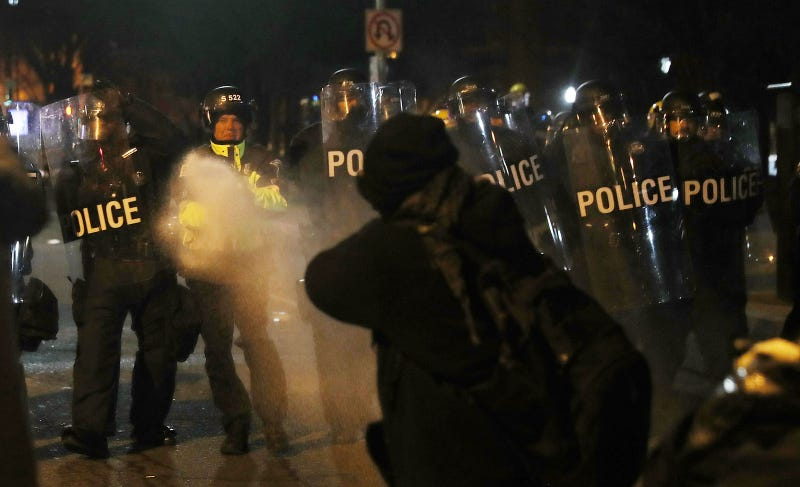 Six Journalists Arrested, Charged With Felony Rioting on Inauguration Day
