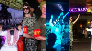 These idiots celebrated 9/11 with a Muslims vs Americans costume party