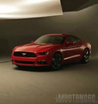 Illustration for article titled A much better shot of the Mustang