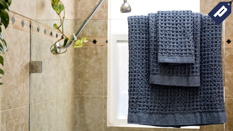 Illustration for article titled Take 30% Off These Ultra Soft Quick-Drying Waffle Towels (From $39)