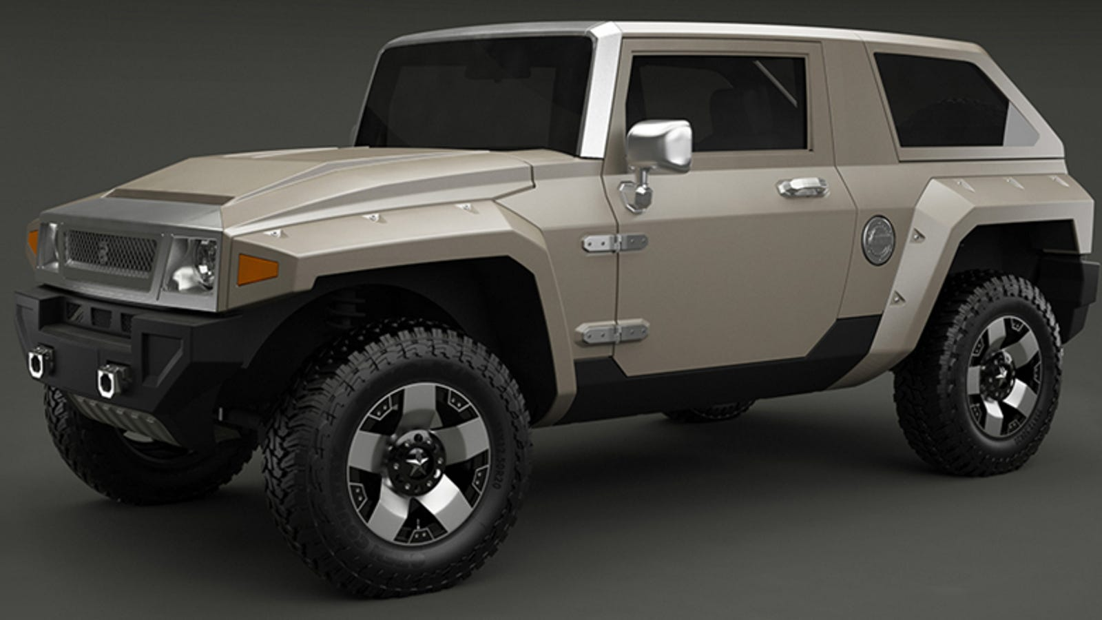 You Can Buy The Futuristic Hummer Hx As A Jeep Wrangler
