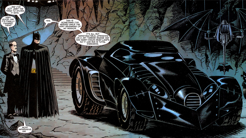 Illustration for article titled Appeals Court Rules the Batmobile is Copyright Protected