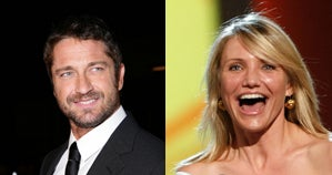 Illustration for article titled Gerard Butler & Cameron Diaz: It's On