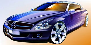 Illustration for article titled 2009 Mercedes Benz CLC: The Rejected Designs